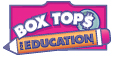 Box Tops logo with website